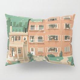 Hitchcock's Rear Window Pillow Sham