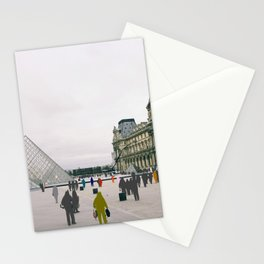 Sometimes People Annoy me Feat. The Louvre, Paris Stationery Cards