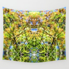 GeoBotanica V2 Wall Tapestry