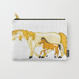 Mare And Foal Love Carry-All Pouch