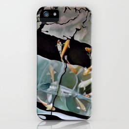 Swim through the shadows 2 iPhone Case