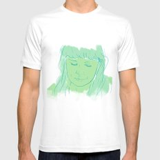 Alessi's Ark, another portrait I made, for purchasing here MEDIUM White Mens Fitted Tee