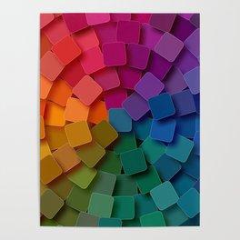 Colorful Circle Poster
