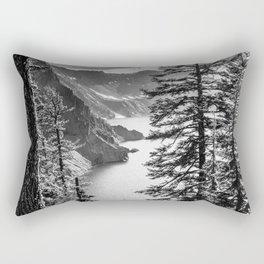 Forest Lake Retreat - Crater Lake Rectangular Pillow
