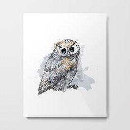 Owl #1 Metal Print