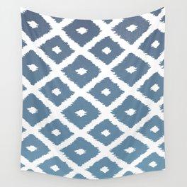 Ikat Linocut Wall Tapestry