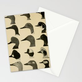 Vintage Duck Heads Stationery Cards