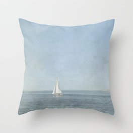 Sunday Sail  - Cape Cod Throw Pillow