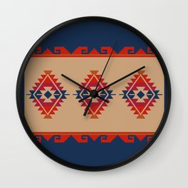Daryl's Poncho Wall Clock