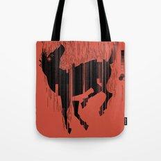 Riding a Dead Horse Tote Bag