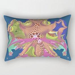A Splash of Color Rectangular Pillow