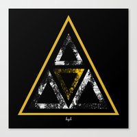 illuminati Canvas Prints featuring Illuminati by Haych