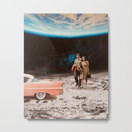 Moon date Metal Print