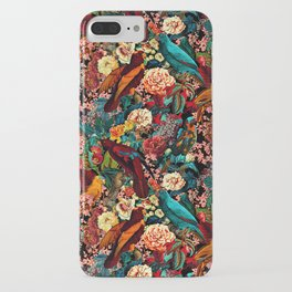 FLORAL AND BIRDS XVII iPhone Case