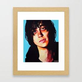 Julian Casablancas Framed Art Print