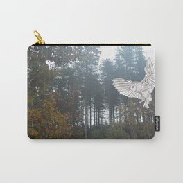 Owl in the Forest Carry-All Pouch