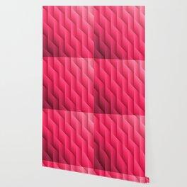 Gradient Pink Diamonds Geometric Shapes Wallpaper