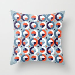 Rain 69 Throw Pillow