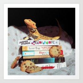 Mayli + Cookies Art Print