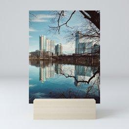 Lake Austin Through The Trees Mini Art Print