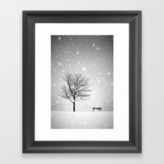 Winter Park Framed Art Print