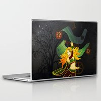 superhero Laptop & iPad Skins featuring Superhero by Kamiledesigns
