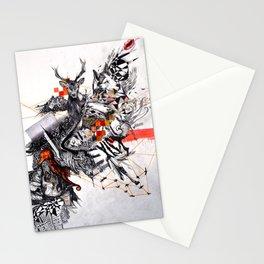 Organic Geometry Stationery Cards