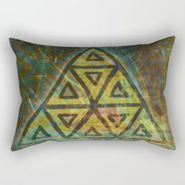 Windows in the Forest - Detail Rectangular Pillow