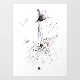 Valkyrie Man Art Print