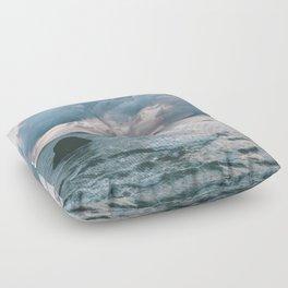 Oregon Coast X Floor Pillow