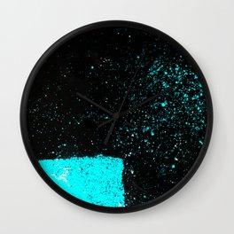Black & Blue Wall Clock