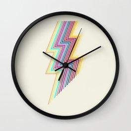 80's lightning Wall Clock
