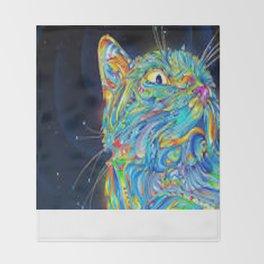 Kitty Kat  Throw Blanket
