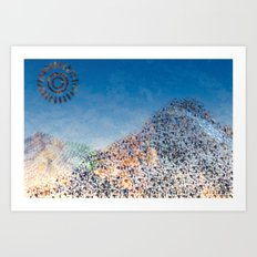 Mountain Series - Midday Art Print