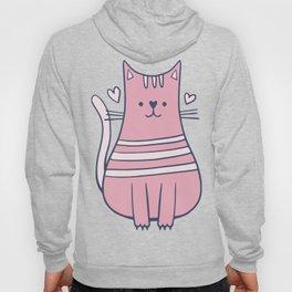 Cartoon Cute Cat Hoody