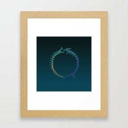 The Snake and the Rabbit Framed Art Print