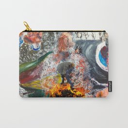 Human I Carry-All Pouch