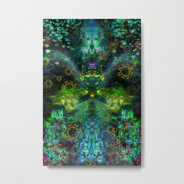 Rain Light Tears (totem, visionary, psychedelic) Metal Print