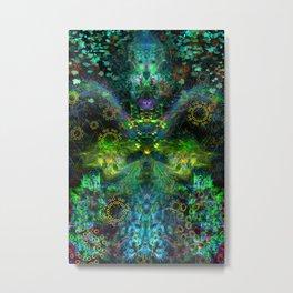 Rain Light Tears (totem, visionary, psychedelic) Metal Print