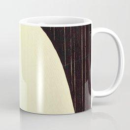 Koson Ohara - White Heron standing in the Rain - Japanese Vintage Ukiyo-e Woodblock Painting Coffee Mug