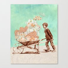 Cloud Carrier Canvas Print