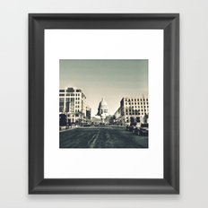 Madison, Wisconsin Framed Art Print