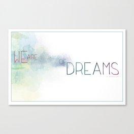 Dreamer Of Dreams Canvas Print