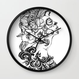 Day of the Dead Russia Wall Clock