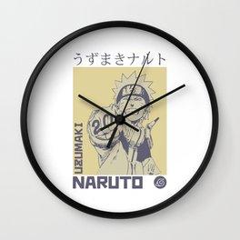 Dattebayo! Wall Clock