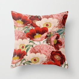Vintage Garden #society6 Throw Pillow