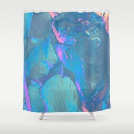 Holographic Artwork No 4 (Crystal) Shower Curtain