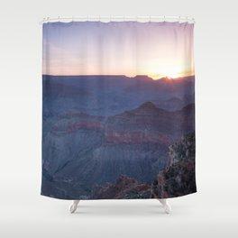 Beautiful Sunrise in the Grand Canyon Shower Curtain