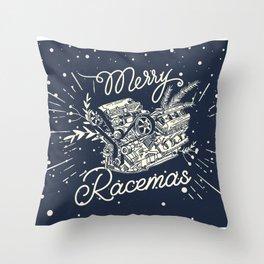 Merry Racemas Throw Pillow