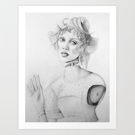 Paris Doll Art Print